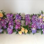 #### Hydrangea MUM with rose placements £120