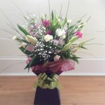 #### Sympathy Box Bouquet from £30 colour of your choice