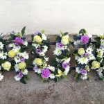 ####£110 mixed flowers
