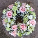 #### Rose and Lily wreath  16