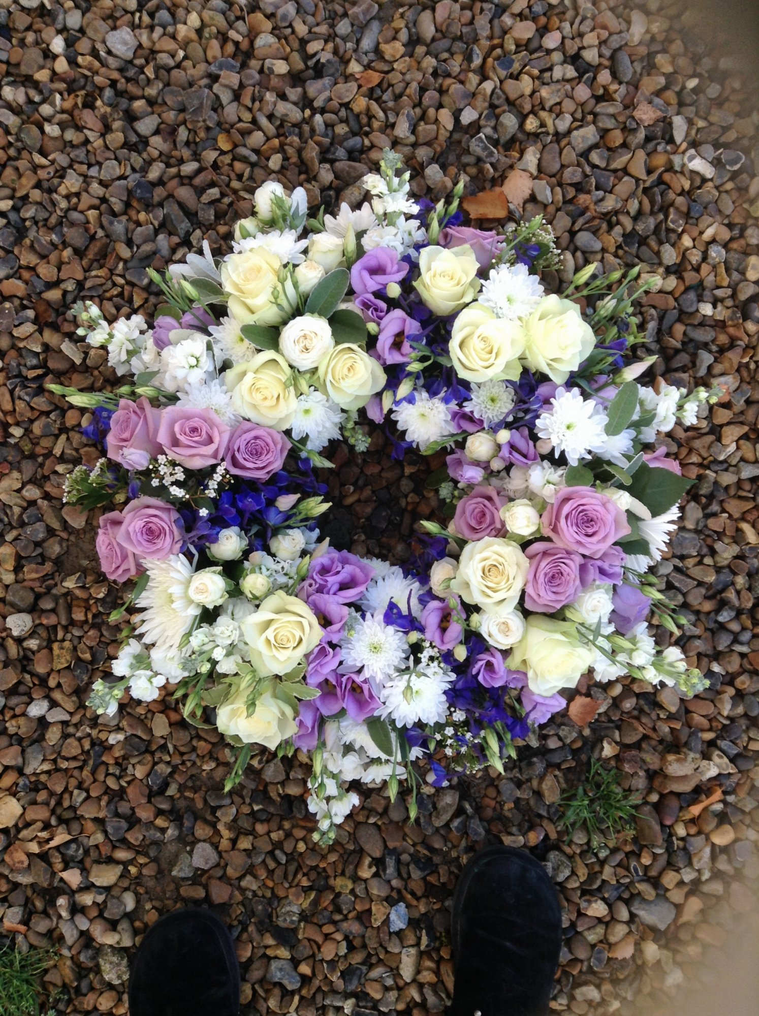 Funeral and sympathy flowers beautiful flowers especially for you country wreath 80 izmirmasajfo