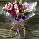 #### luxury rustic bouquet £45