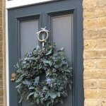 #### Eucalyptus door wreath £50